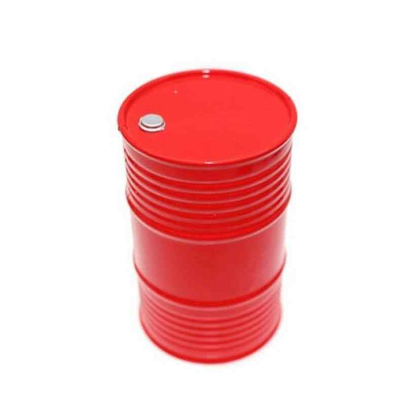 CHAMSGEND 1:10 RC Crawler Accessories Oil Drum Fuel Tank Container For Axial SCX10 6.12
