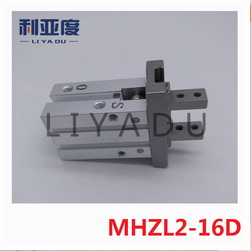MHZL2-16D long stroke parallel open and closed type gas claw / pneumatic finger MHZL2 16D smc brand new original finger cylinder grip claw claw mhl2 16d