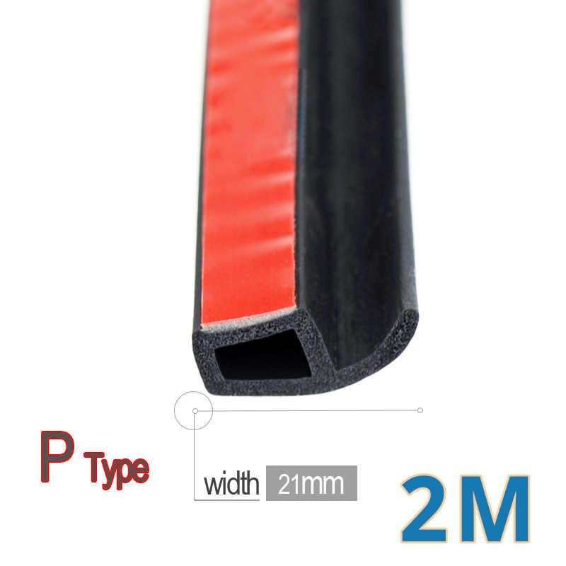 Grande d p z y estilo do carro auto selos de borracha vedação da porta do carro weatherstripping isolamento acústico porta vedação pára-brisa borracha tira