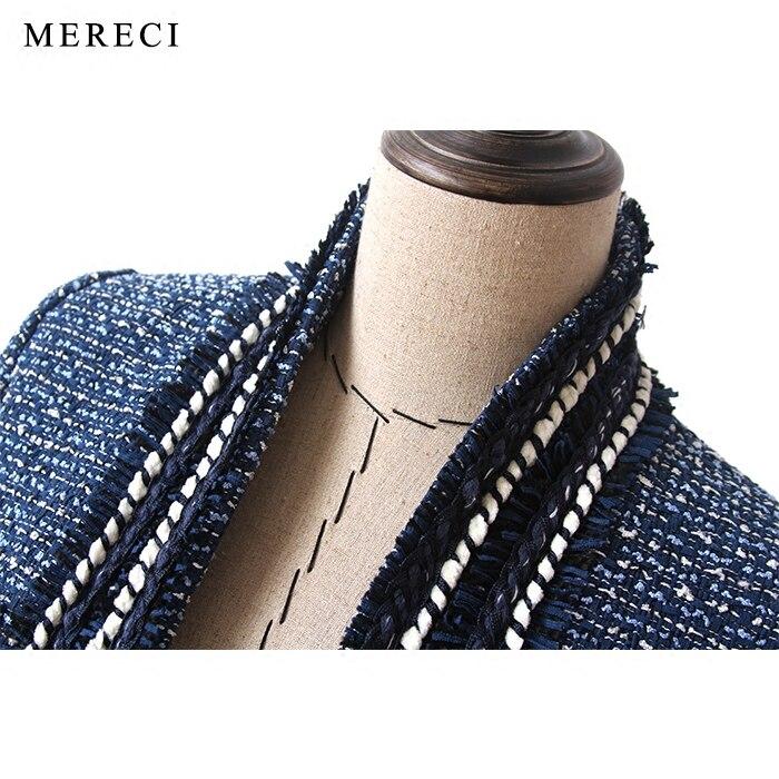 Manches 2017 Bleu Purebliss Brut Designer Haute Piste Manteau Formelle À Élégant Veste Qualité Bord Longues Tweed 8qOIgwXCn