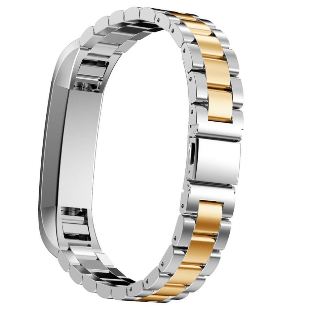 Luxury Watch Band Metal Straps Stainless Steel Watch Band Bracelet Strap Wristband For Fitbit Alta Smart Sports Watch BandWatch
