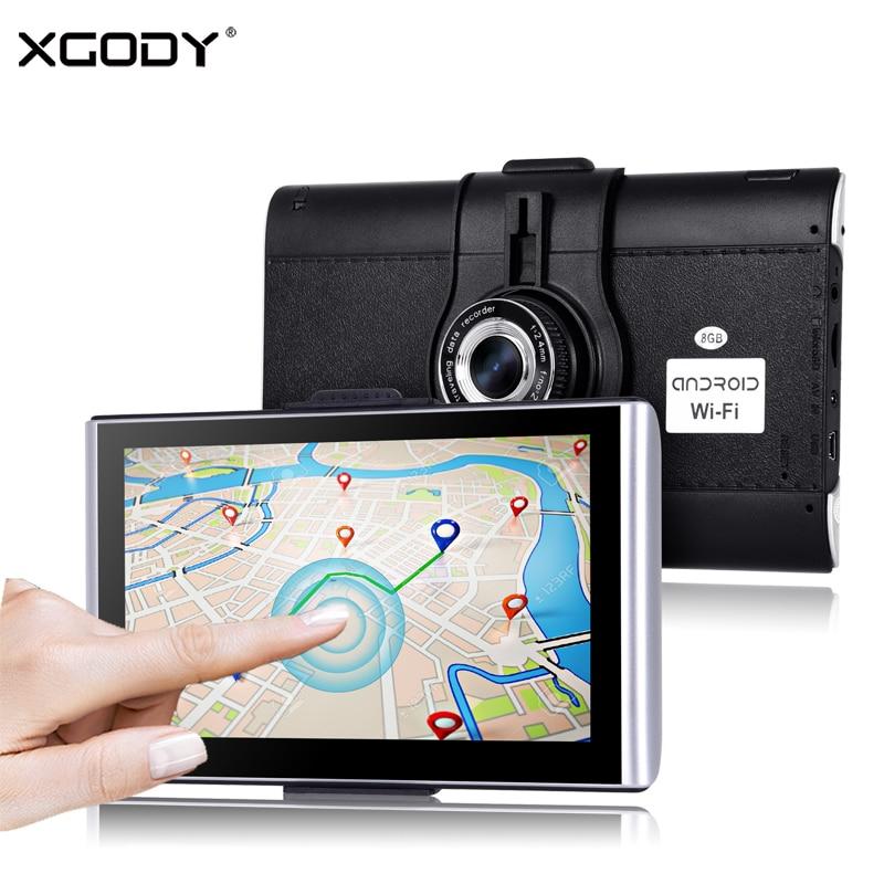 XGODY 826plus Car Vehicle DVR Video Recorder Dash Camera Andriod 7 Inch Full HD 1080P