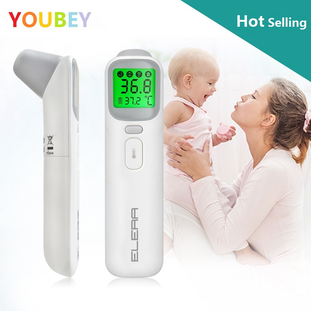 YOUBEY Baby Thermometer Infrared Digital LCD Body Measurement Forehead Ear Non Contact Adult Body Fever IR Children  Termometro-in Thermometers from Mother & Kids on Aliexpress.com | Alibaba Group