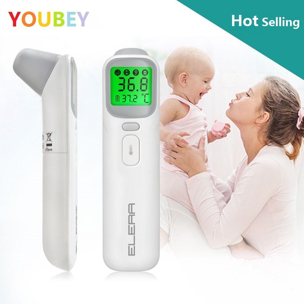 YOUBEY Baby Thermometer Infrarot Digital LCD Körper Messung Stirn Ohr Nicht-Kontaktieren Erwachsene Körper Fieber IR Kinder Termometro