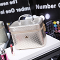 Women Crown Large Capacity Professional Makeup Organizer High Quality Cosmetic Bag Waterproof Lovely Storage Case Bolso Mujer
