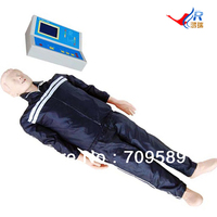 Advanced Computer Controlled Adult CPR manikin, ACLS manikin, male CPR Mannequin