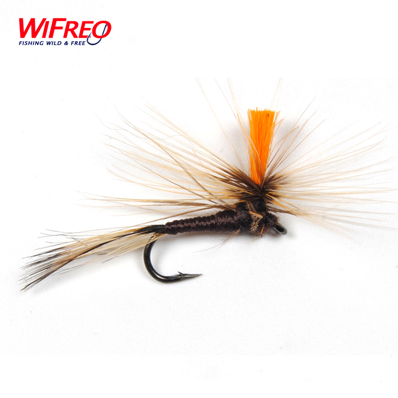 10PCS 10# Fly Fishing Parachute Dry Fly Trout Flies WIFREO 10pcs beadhead pm caddis 14 nymphs dry fly fishing trout flies