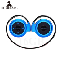 Hot Cool Mini 503 Sport Bluetooth 4 0 Wireless Headphones Music Stereo Earphones With 16GB Memory