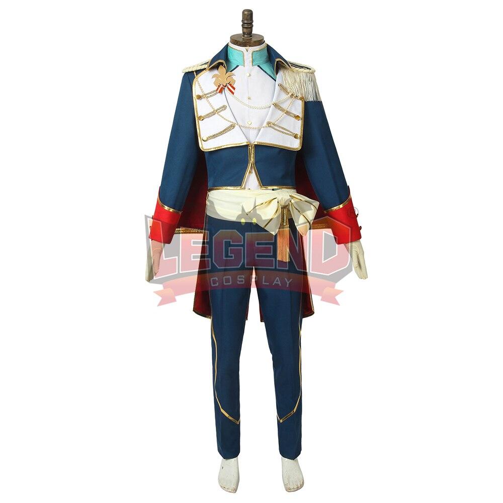 Ensemble Stars Ritsu Sakuma costume cosplay chevaliers Requiem épée de serments et le remboursement Festival costume sur mesure