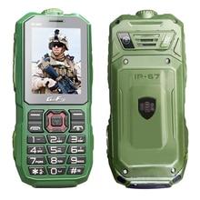 GOFLY A8S Étanche IP67 longue veille téléphone portable lampe de poche enregistreur FM dual SIM antipoussière antichoc robuste mobile téléphone P286