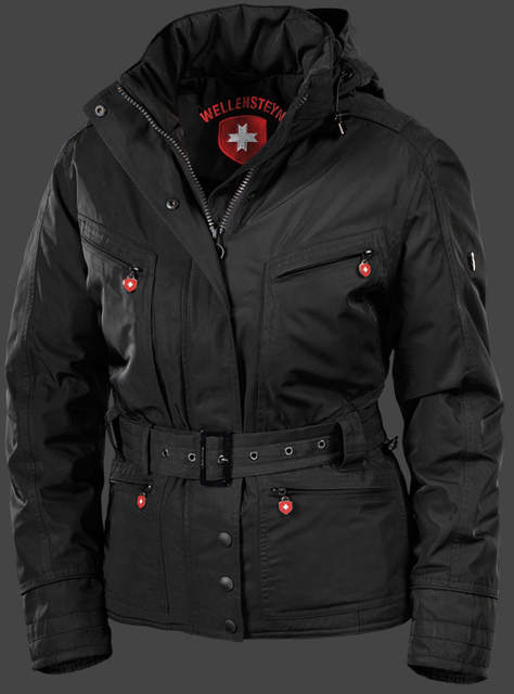 Wellensteyn Luxor BlackAirTec, Schwarz Women coat jacket in