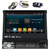 Android 6 0 Single Din Head Unit 7 Inch Car Stereo GPS DVD CD Player Bluetooth