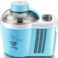 220V Self Cooling Ice Cream Machine Full Automatic Multifunctional Fruit Ice Cream Maker For DIY Homemade
