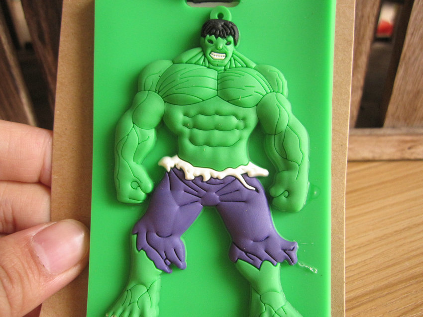 COOL 1PCS Hulk Anime Luggage Tag Travel Accessories Suitcase ID Address Portable Tags Holder Baggage Labels New
