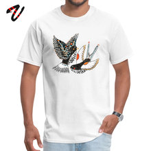 Tops T Shirt Sparrow & Swallow Summer On Sale Design King Sleeve Pure Marilyn Manson Crewneck Men Tees
