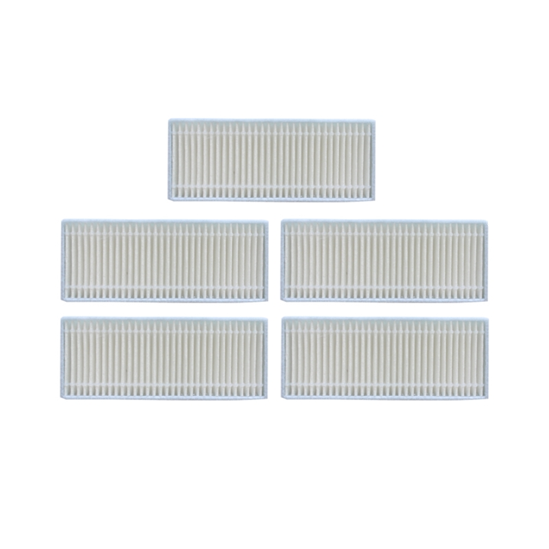 5 Pieces/lot Robot Vacuum Hepa Filter For Deik Mt 820 Robotic Vacuum Cleaner Parts Accessories Filter