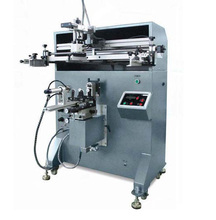 single color automatic plastic bucket screen printing machine for sale