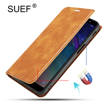 SUEF Luxury Vintga PU Leather Flip Cover Case For Oneplus 7 Pro 1+7 1+ 7 Pro Phone Bags With Magne Stand wallet Card
