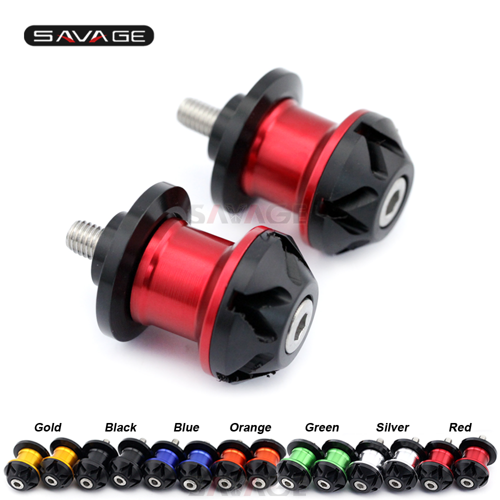 Swingarm Spools Slider For DUCATI Multistrada 950 2017-2018 17 18 Stand Screw Motorcycle Accessories 8mm Size POM Aluminum