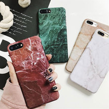 Luxury Retro Marble Pattern Cover For Samsung Galaxy S7 Edge S8 S9 Plus