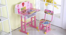 kids study desk children's multifunction study tables set study table and chair for children(China)