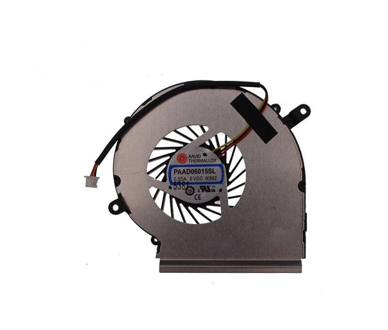 New for MSI GE62 GE72 GL62 GL72 PE60 PE70 GPU Cooling fan cooler PAAD06015L N302 3-pin original msi gl62 6qd