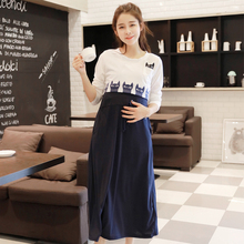 2pcs Summer Maternity Clothes Maternity Dresses Nursing Clothing Nursing Vest Dress Breastfeeding Clothes for Pregnant Women B93