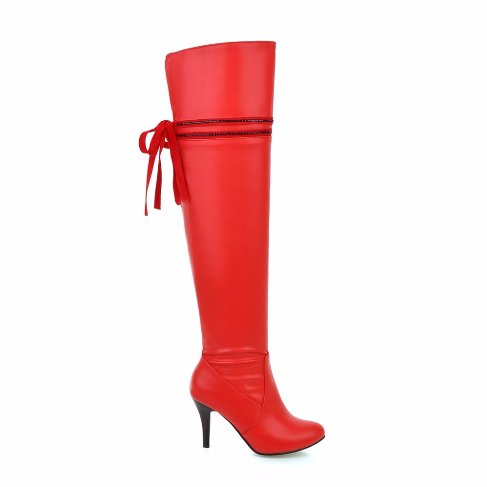Online Get Cheap Red Thigh High Boots -Aliexpress.com | Alibaba Group