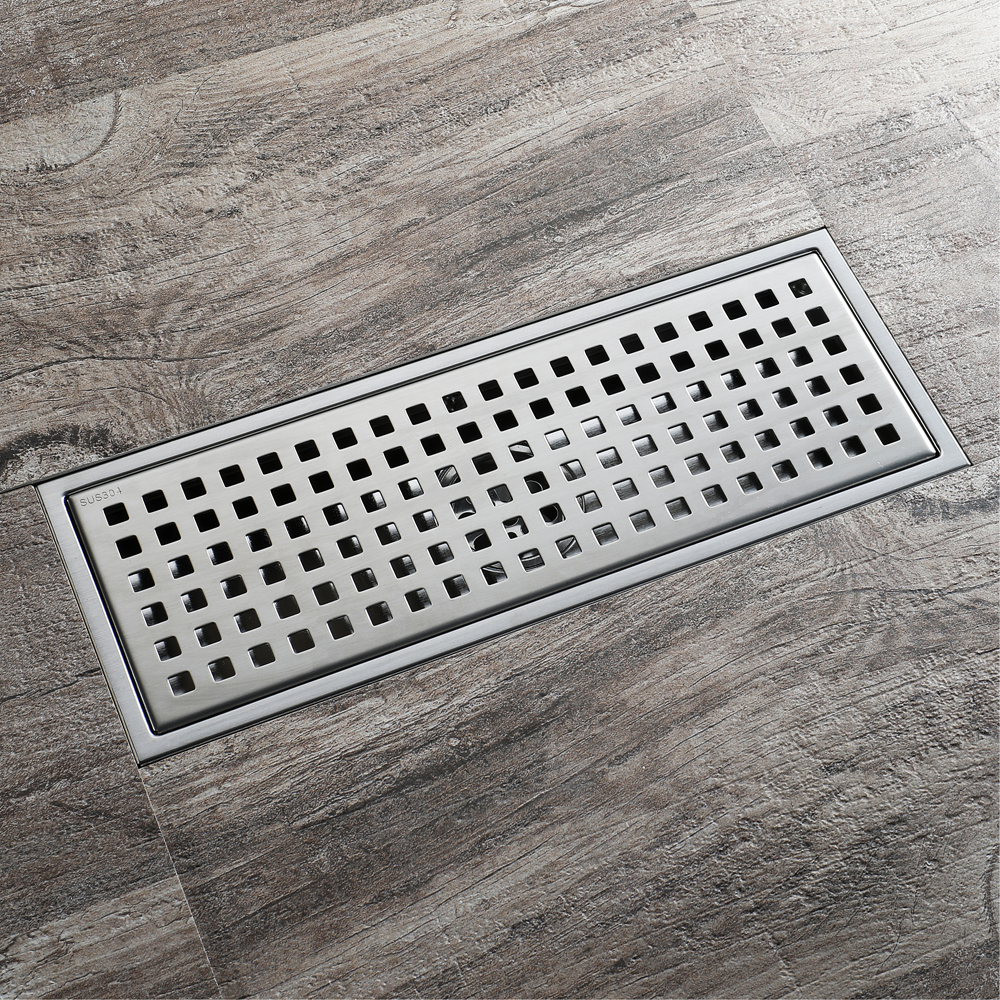 HIDEEP Stainless Steel Anti-odor Floor Drain Deodorization Type Rollover Kitchen Sink Strainer Drains Shower For Family Bathroom mayitr stainless steel linear shower ground floor drain grate mesh sink strainer bathroom tool 900mm