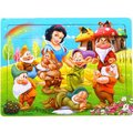 Wooden Puzzle Snow White and the Seven Dwarves Jigsaw  60 Pieces Educational Toy for Children Gift