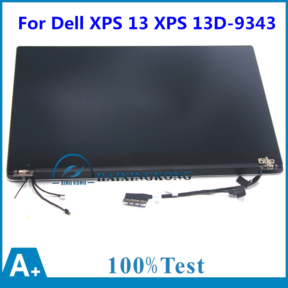 32001800 Qhd Lcd Screen Display Complete Laptop Assembly With Peugeot Xps Wiring Touch Hp2yt For Dell 13 Xps13d 9343 1608t Ultrabook 133