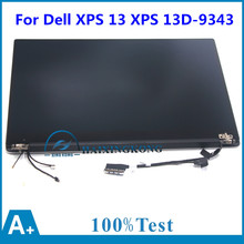 3200*1800 QHD + ЖК-Экран Полной Сборки Ноутбука С СЕНСОРНЫМ HP2YT Для Dell XPS 13 XPS13D-9343-1608T Ultrabook 13.3»