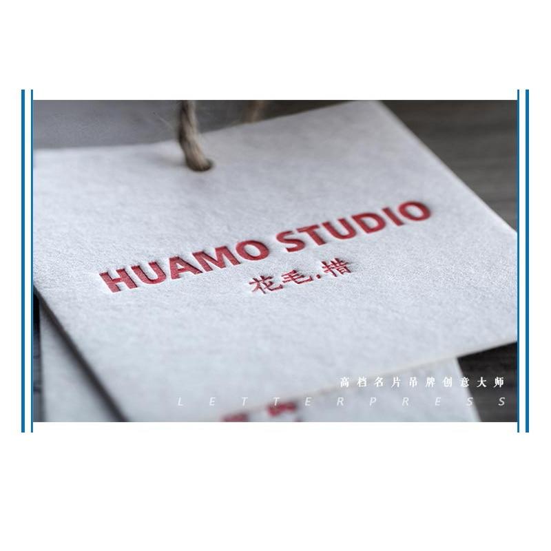 Custom High -Grade 500G Cotton Paper Card Clothing Tags