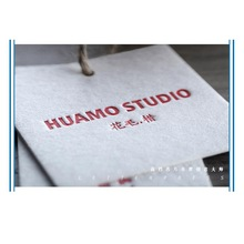 Custom High -Grade 500G Cotton Paper Card Clothing Tags цена