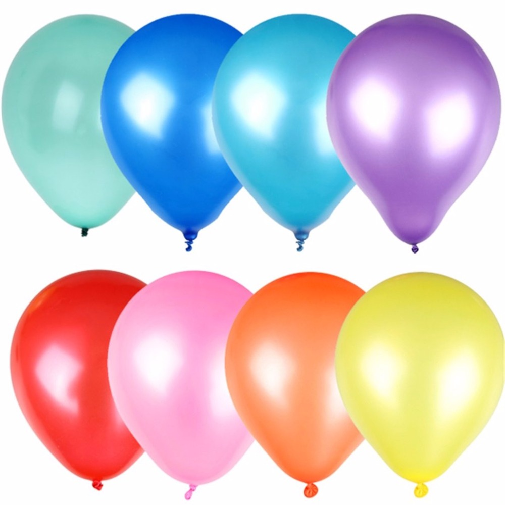 Toy Balls Rapture 100pcs 10 Decor Latex Pearlized Pearl Balloons For Party Wedding Birthday Gift Christening Or Birthday Party Balloon Toys To Have Both The Quality Of Tenacity And Hardness
