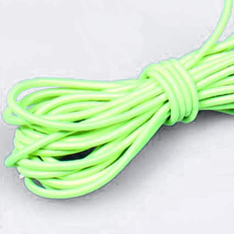For All Ages Tennis Training Ball Green Rubber Elastic Rubber Band Sport 130CM Practice Trainer Tool