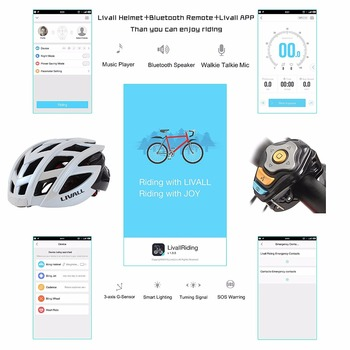 Bluetooth Bike Helmet | Bike Helmet Bluetooth Cycle Helmets Smart Safety Bicycle Helmet Intelligent Cycling Helmet With Tail Light Turn Signals BH60
