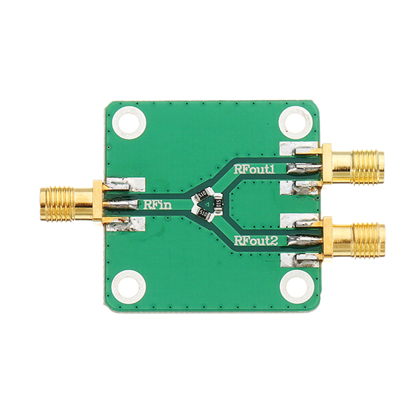 1pcs Dc 5g Rf Microwave Splitter Radio Frequency Divider Resistor Distributor Module