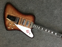 В наличии! Custom shop Firebird Электрогитары с длинными Версон маэстро Vibrola, клена Guitarra, все Цвет доступны