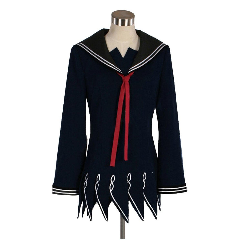 black bullet kisara tendo uniform cloth dress cosplay costume on
