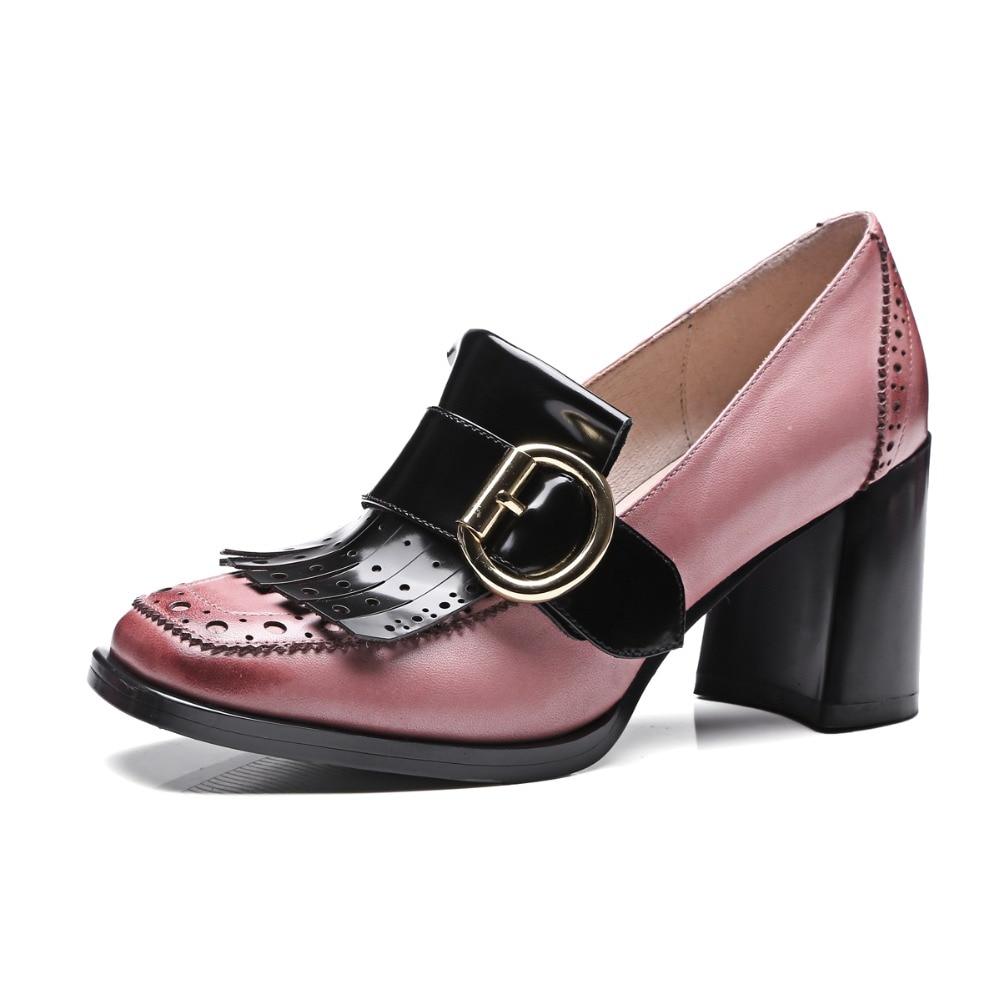 Popular Chunky Heel Oxfords-Buy Cheap Chunky Heel Oxfords lots ...