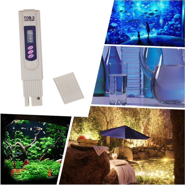 Portable Pen Portable Digital Water Meter Filter Measuring Water Quality Purity Tester TDS Meter 19%Off €27.99 Accessories Reverse Osmosis Spare Parts