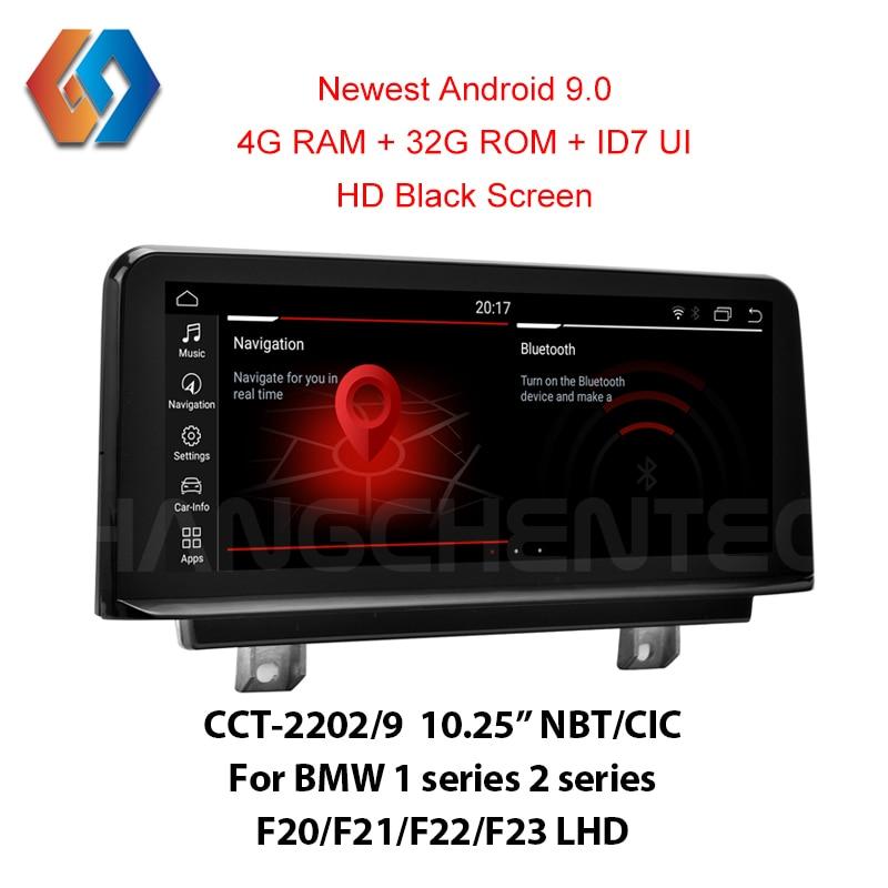 GPS do carro da Tela de Toque 4G Android 9.0 Para BMW LHD F20 F21 F22 F23 CIC NBT Suporte Todos Os OEM funções e Características Embutido BT WiFi