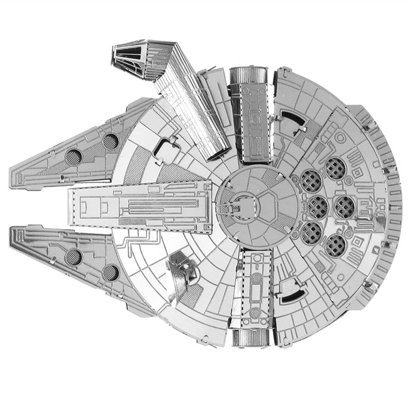 Wars Millennium Falcon Small 28 Images Star Wars Millennium Falcon Ship Fun 3d Metal Diy