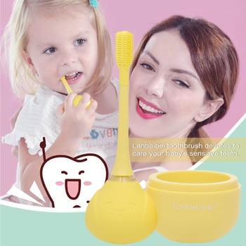 Teeth Whitening Kids Ultrasonic Electric Toothbrush Children's Automatic Tooth Brush Ultra-soft Bristles Wireless Charging