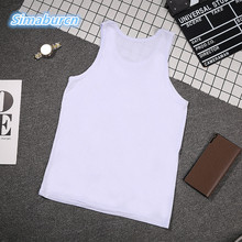 Top Quality Mens Sleeveless Cotton O-Neck T-shirt Men 2017 Summer Casual Brand Shirts Solid Color  Male Tops & Tees Vest