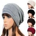 2015 winter women beanie Skullies men Hiphop hats Warm knitted  hat,baggy crochet cap,bonnets femme freeshipping W1