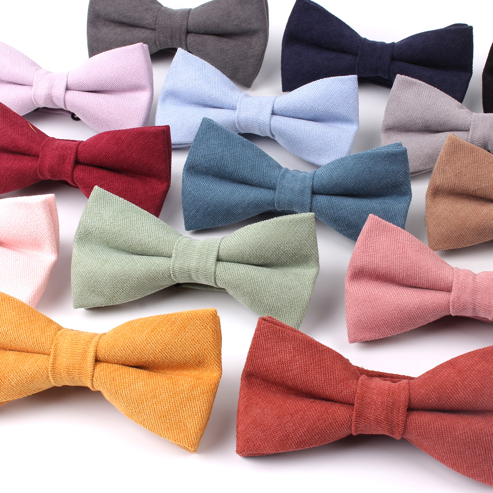 NEW Candy Color Men Bow Tie Classic Shirts Bowtie For Men Bowknot Adult Solid Color Bow Ties Butterfly Cravats Ties For Wedding(China)