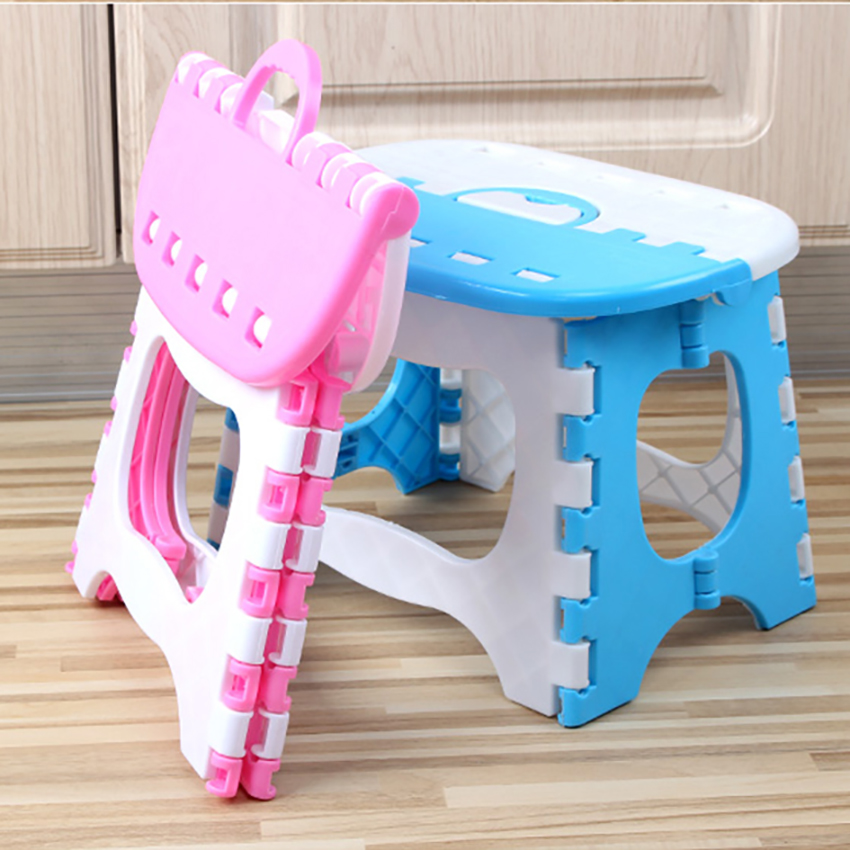 1pc Folding Step Stool Lightweight Step Stool Thicken PP Mini Cartoon Safe Stool for Kitchen Bathroom Bedroom Kids or Adults1pc Folding Step Stool Lightweight Step Stool Thicken PP Mini Cartoon Safe Stool for Kitchen Bathroom Bedroom Kids or Adults