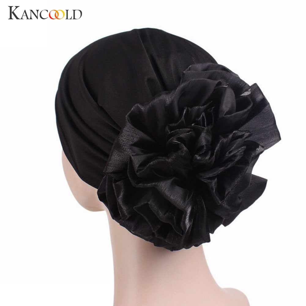KANCOOLD Hat Woman High Quality Cancer Chemo Hat Beanie Scarf Turban Head Wrap Cap Fashion Casual Hat Woman 2018NOV15